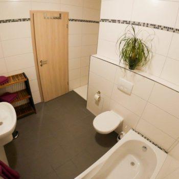 Wohnung F Badezimmer