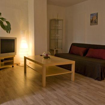 Wohnung A Wohnzimmer
