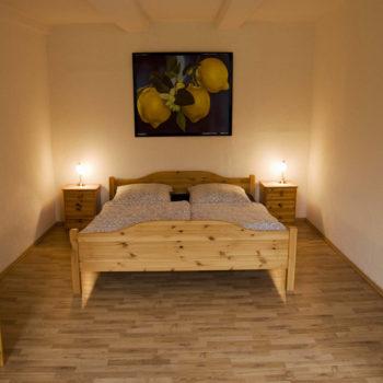 Wohnung B Schlafzimmer